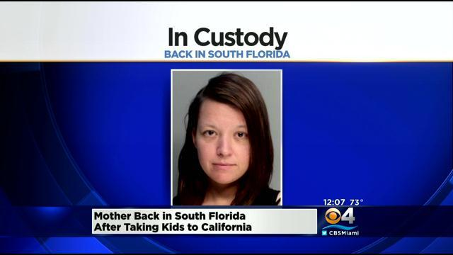 Mom Who Took Kids On Illegal Cross Country Trip Returned To South Florida