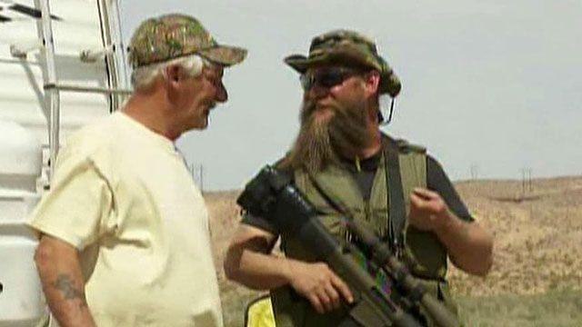 Armed standoff between rancher, federal government