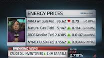 Crude oil inventories triple expectations