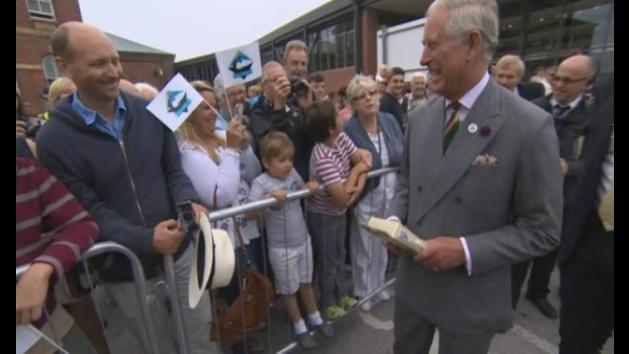 Prince Charles: 'Baby hasn't quite arrived yet'
