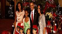 Raw: Obamas attend annual holiday concert