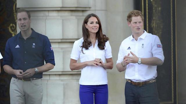 The Duchess of Cambridge Has Got the Olympic Bug With Her Patriotic Skinny Jeans