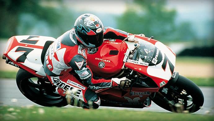 1998年Pierfrancesco Chili也騎乘996,是Fogarty的首要競爭對手。