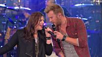 Live On Letterman - Lady Antebellum: Just A Kiss