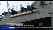 New ship: USS Fort Worth arrives in San Diego