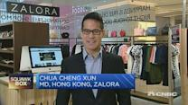 Zalora: Our sales results have been really encouraging