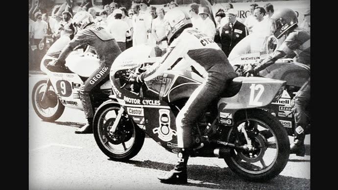 當年Hailwoody在TT賽事上所留下的照片。