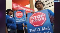 Teachers, Postal Workers Weigh Staples Boycott