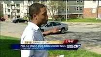KC police investigate Sunday afternoon shootings