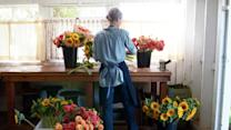 American Made Winners Floret on Organic Handcrafted Arrangements