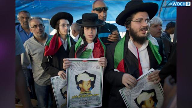 Israel Charges Palestinian Teen's Alleged Killers