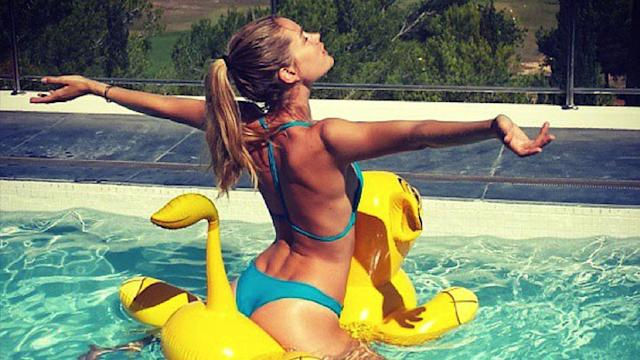 How Do Models Stay Fit on Summer Vacation?