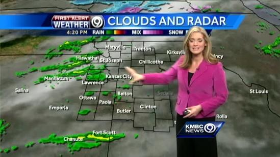 Winter weather may arrive over the weekend