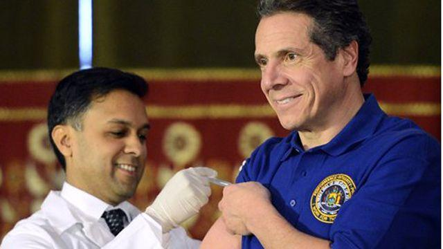 NY Gov Cumomo declares health emergency over severe flu
