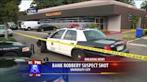 Shots Fired During Bank Robbery