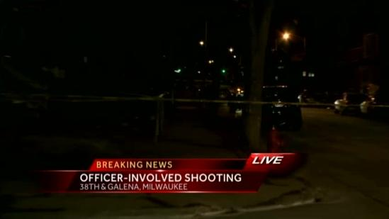 Officer-involved shooting in Milwaukee
