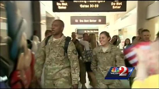 180 National Guardsmen head home in time for Christmas