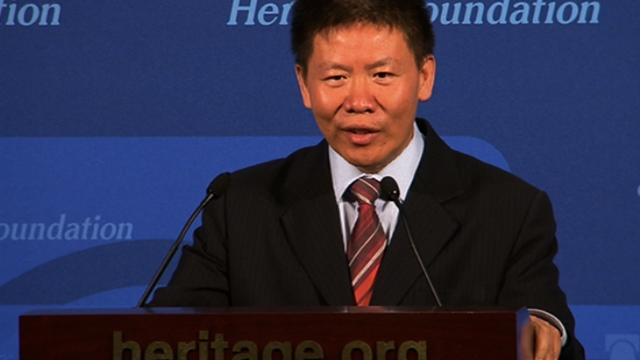 China dissident seeks U.S. asylum