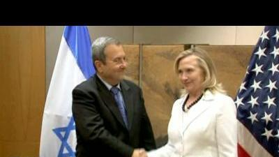 Clinton makes the rounds in Jerusalem