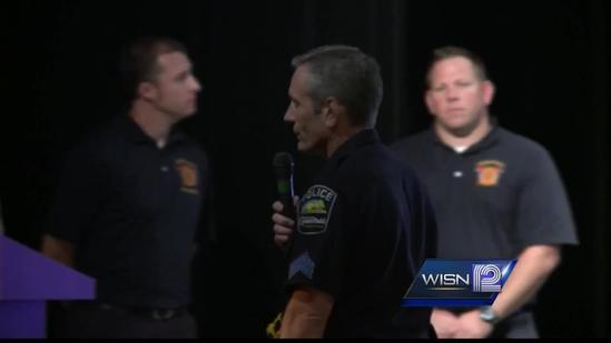 Greenfield police prepare Whitnall H.S. staff for emergency situations