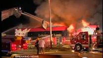 Lakewood Lanes fire in Waterford Township