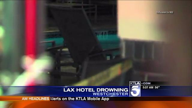 Man Discovered Dead in LAX Hotel Pool; Investigation Underway