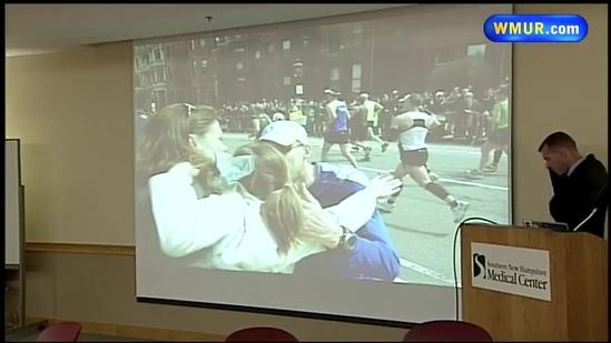 Doctor describes treating marathon bombing victims