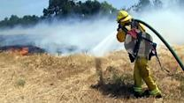 Cause of grass fire in San Jose under investigation