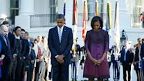 9/11 Moment of silence observed in DC and NY