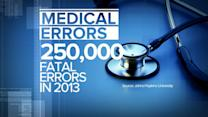 New Research Says Medical Errors are 3rd Leading Cause of Death in US