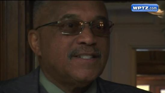 Tommie Smith visits Goddard College