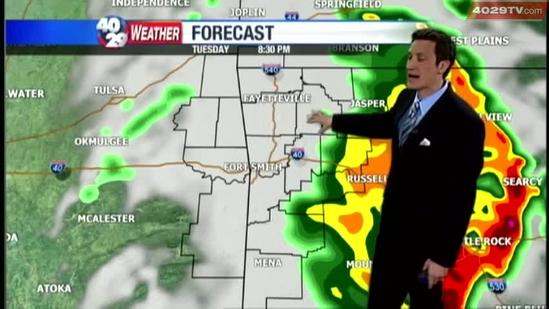 Drew's Weather Webcast, May 21st