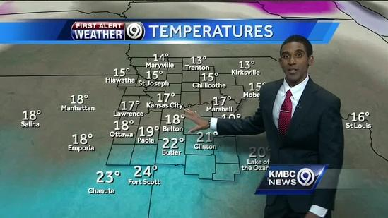 Upper 20s for your Saturday; frigid air returns Sunday