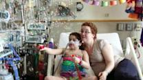 Dying girl takes turn for worse as she awaits new lungs