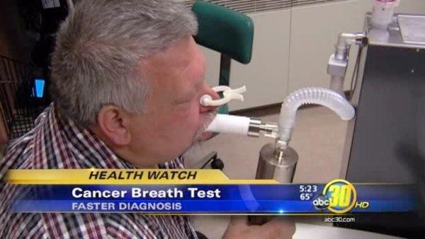Cancer breath test