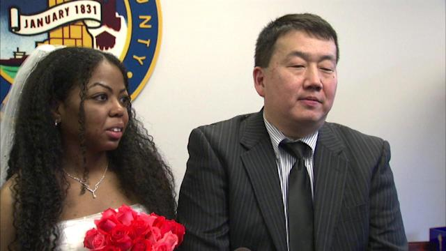 1st marriage license of 2013 issued Wednesday