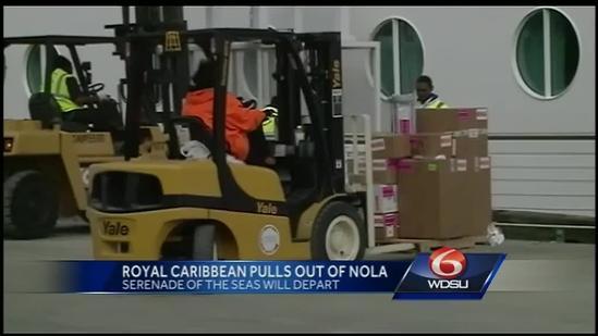 Royal Carribean's Serenade of the Seas to leave NOLA