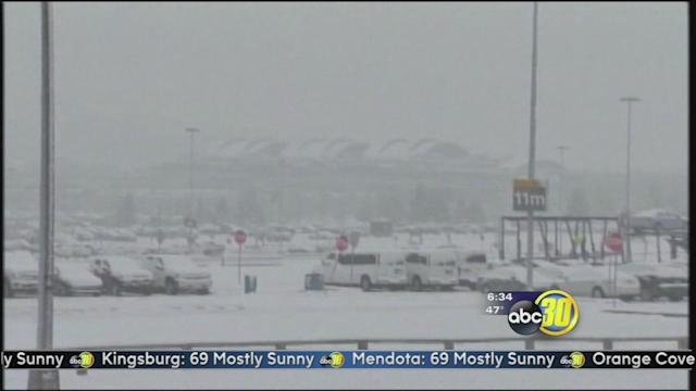 East Coast battles storms during Thanksgiving travel time