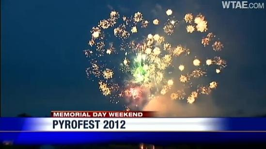PyroFest fireworks light up Pittsburgh holiday weekend