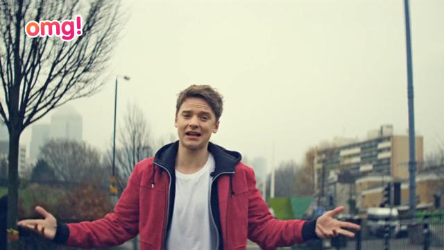 Conor Maynard's excited to be nominated for 2 awards at the 2012 MTV EMA
