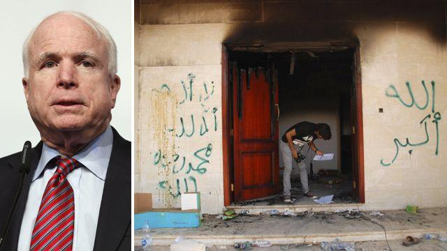 McCain claims 'massive cover-up' on Benghazi