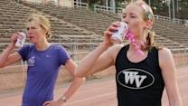 Beer-Chugging Runners Gut it Out