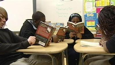Students Stop And Read Together