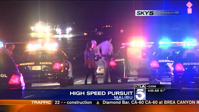 UC Irvine Student in Custody After Police Pursuit Ends on PCH