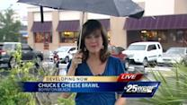 3 arrested after brawl at Chuck E Cheese's