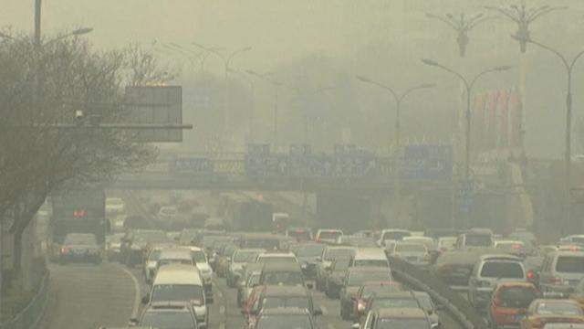 WHO calls air pollution in Chinese cities a crisis