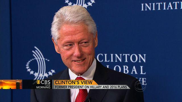 Bill Clinton on Hillary's 2016 hopes: She'd rather be a grandmother than president
