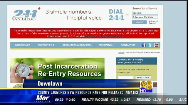 County launches new resource page for released inmates