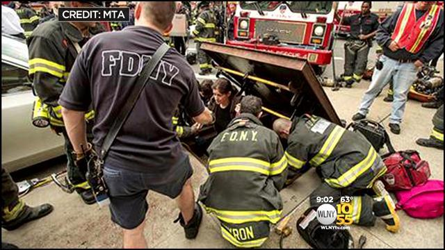 Crews To Work Overnight To Clean Up Following Subway Train Derailment In Queens
