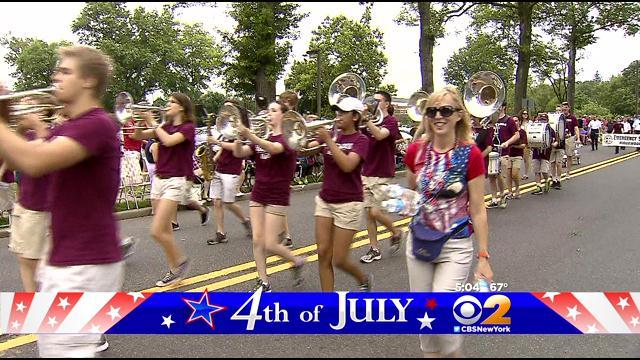 Rain Doesn't Stop Ridgewood From Celebrating At July Fourth Parade